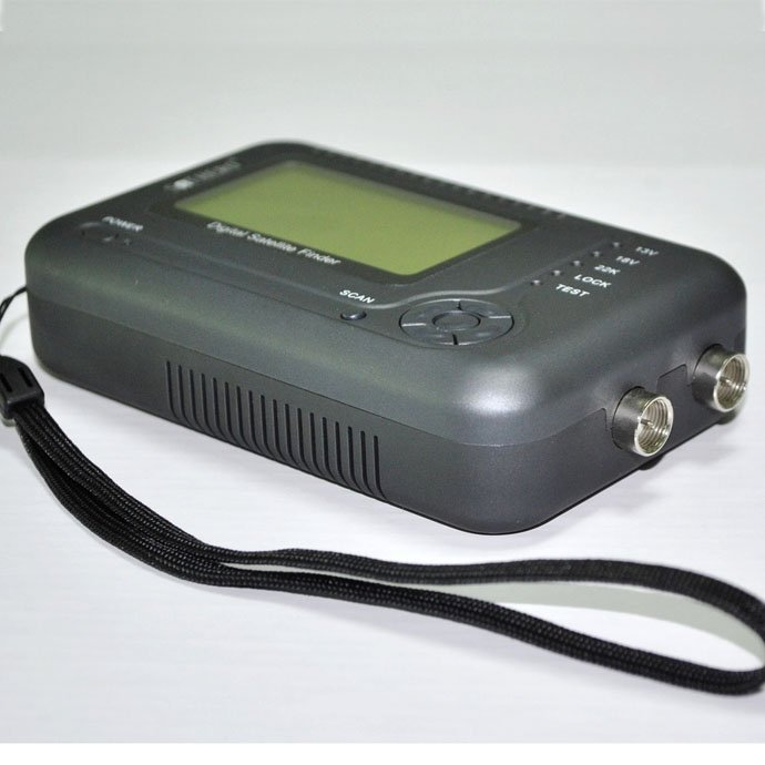 Free Shipping! Sathero SH-200+ Digital Satellite Finder support DVB S Display NIT value with battery(China (Mainland))
