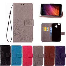 Buy Xiaomi Redmi 4X Case Flip Wallet PU Leather Case Xiaomi Redmi 4X Cover High Book Stand Card Slot Phone Cases for $3.15 in AliExpress store