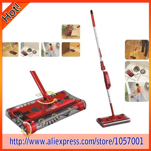 New Rotary Sweeper G6 Cordless Electric Mop 360 Degree Cleaning Floor Vacuum Cleaner 12pcs/Lot(China (Mainland))