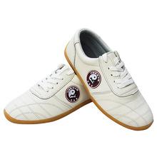 ALYWY14-2 men and women tai chi shoes men leather shoes women wushu shoes martial arts wear free shipping(China (Mainland))