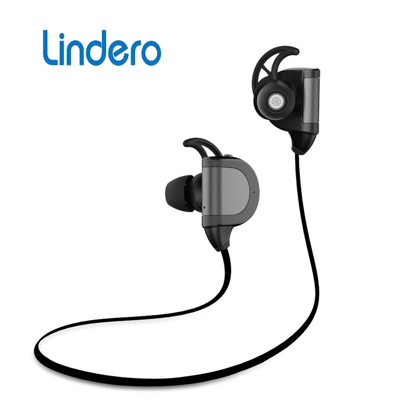 Bluetooth Headphone V4.1 Wireless Earphone headset Sport Running Studio audio with Microphone Music Headset Original LINDERO M8(China (Mainland))