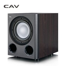CAV Q3BN home theater Subwoofer 8-Inch Powered Subwoofer