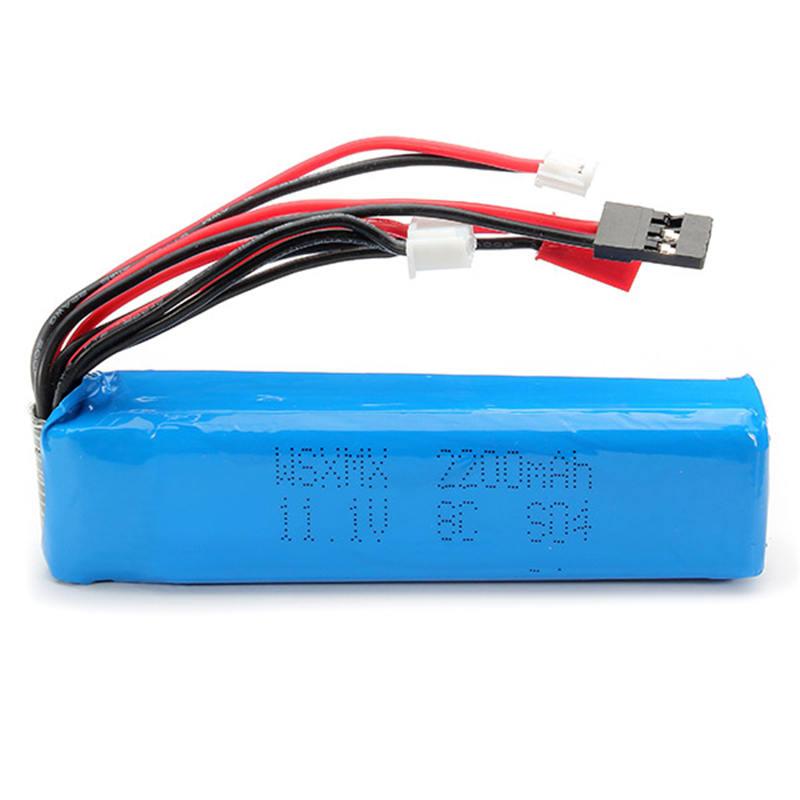 WSX-S04 Remote Controll Lipo Battery 11.1V 2200mAh For FUTABA KDS JR FS Walkera(China (Mainland))