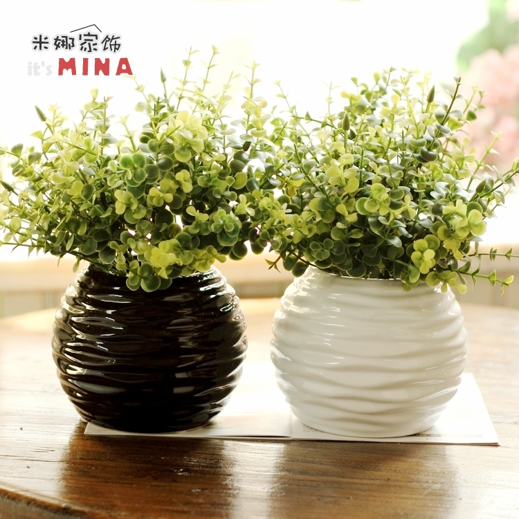 Plant Artificial Tree Plants Cool Faux Beguile. Staked Indoor Eucalyptus