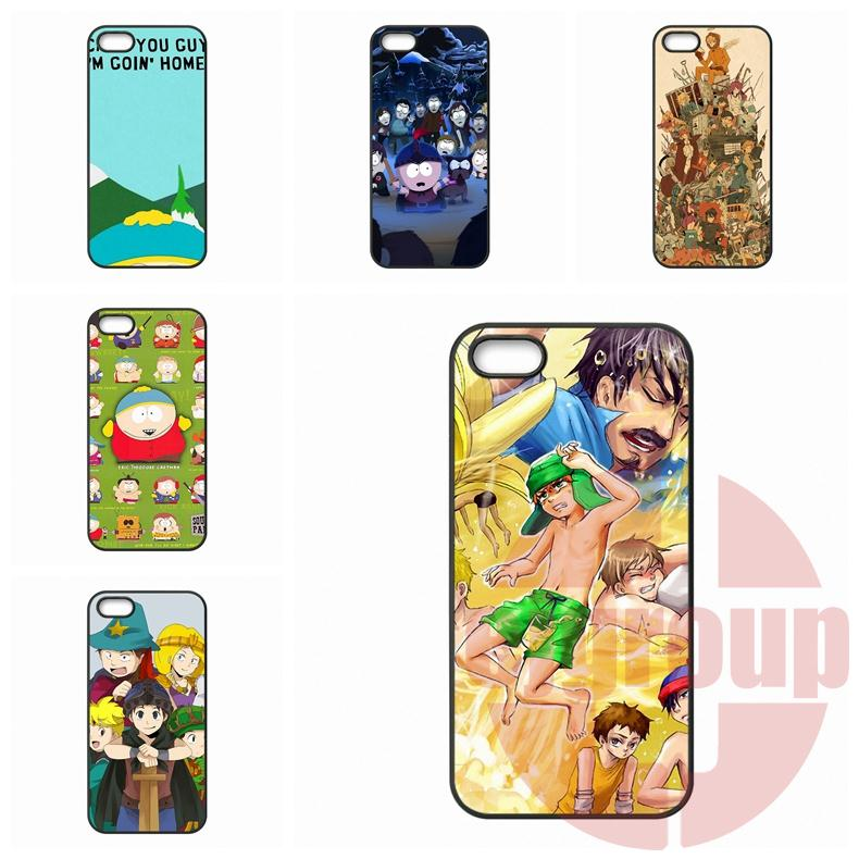 Hard Plastic Protective Eric Cartman South Park For Apple iPhone 7 Plus For Galaxy Note 7 For Huawei P9 Lite For HTC D 826(China (Mainland))