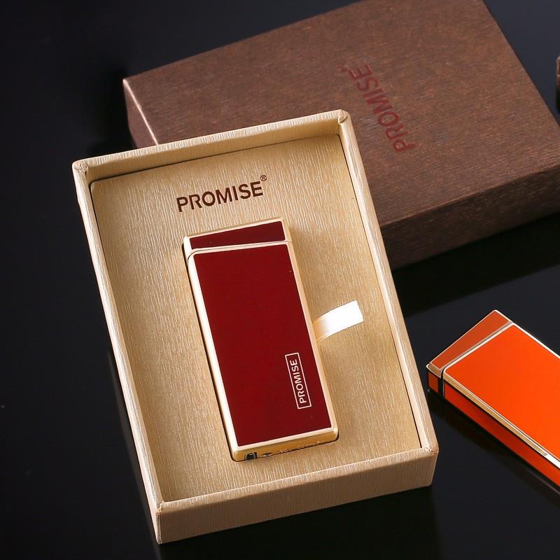 ถูก 5ชิ้น/ล็อต2017 USB windproofเบาสำหรับคนที่มีกล่องของขวัญencendedor arcเบาisqueiroสำหรับผู้ชายเบาควันบุหรี่เครื่องมือ
