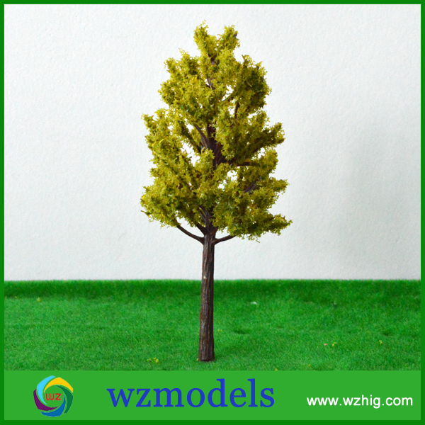 free shipping 10 pcs Green Model Trees for N Z scale layout Garden Pack Street 130mm<br><br>Aliexpress