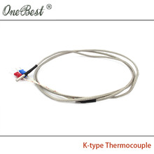 Free shipping 3D printer accessories  3x15x1000mm k-type thermocouple type K temperature sensor k type electric heating