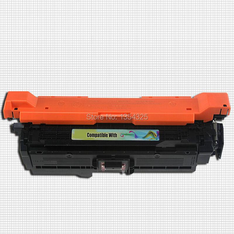 4PC Lot Compatible For HP LaserJet Enterprise M551XH Color toner cartridge For HP 507A CE400A CE401A