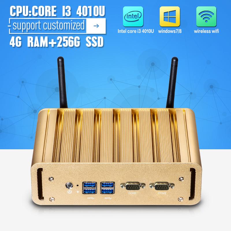 Здесь можно купить  HOT X31-I3G 4010U 2*LAN 2*RS232 4G RAM 256G SSD Vensmile i10 Mini PC NUC Game Computer Support HD Video  Компьютер & сеть