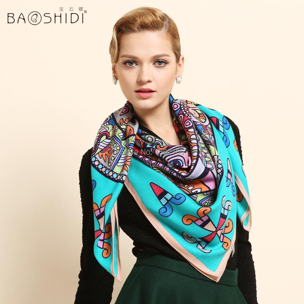 2015 Thickening Wool scarf for women, 100% Australian wool ...