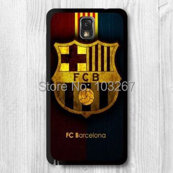 Football Barcelona Protective Black Hard Cover Case Samsung Galaxy Note 2 3 4 - Shenzhen YHOEM Trading Co.,Ltd store