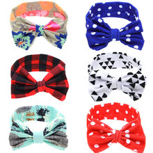 Buy 1 pcs Lovely Bow Hnot Headband Girls Turban Knot Head Wrap Kids Floral Hairband Hair Band Accessories for $1.15 in AliExpress store