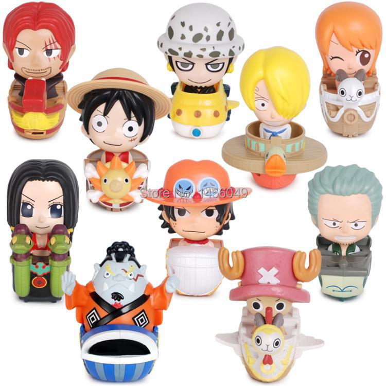 10PCS/Set Japanese Anime Figure Onepiece 2014 Mcdonald 's New Arrival Super Anime One Piece Action Figure Kid High Quality Toys(China (Mainland))