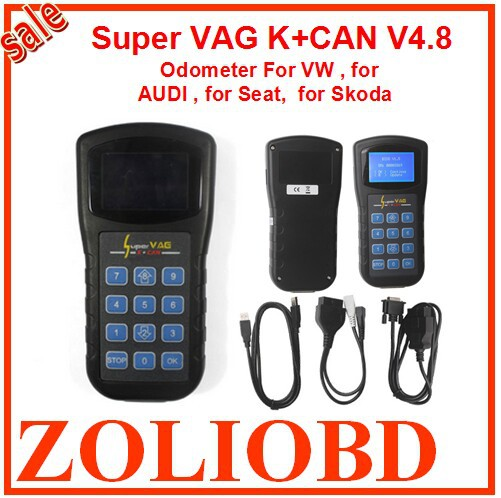 2016 Top Selling Super Vag K+Can v4.8 commander VAG K+CAN 4.8 Odometer correction multi-language K + CAN - ZL Obdtoolshop Co.,Ltd. store