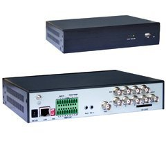 EV-401S 4 CH H.264 Economic Network for CCTV security System, support SATA HDD