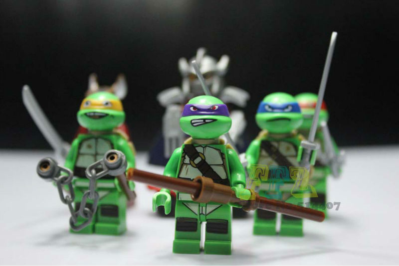 Teenage Mutant Ninja Turtles Building blocks, Tortoise Figure Action Toy New Ninjago Without Original Box - Only You Store store
