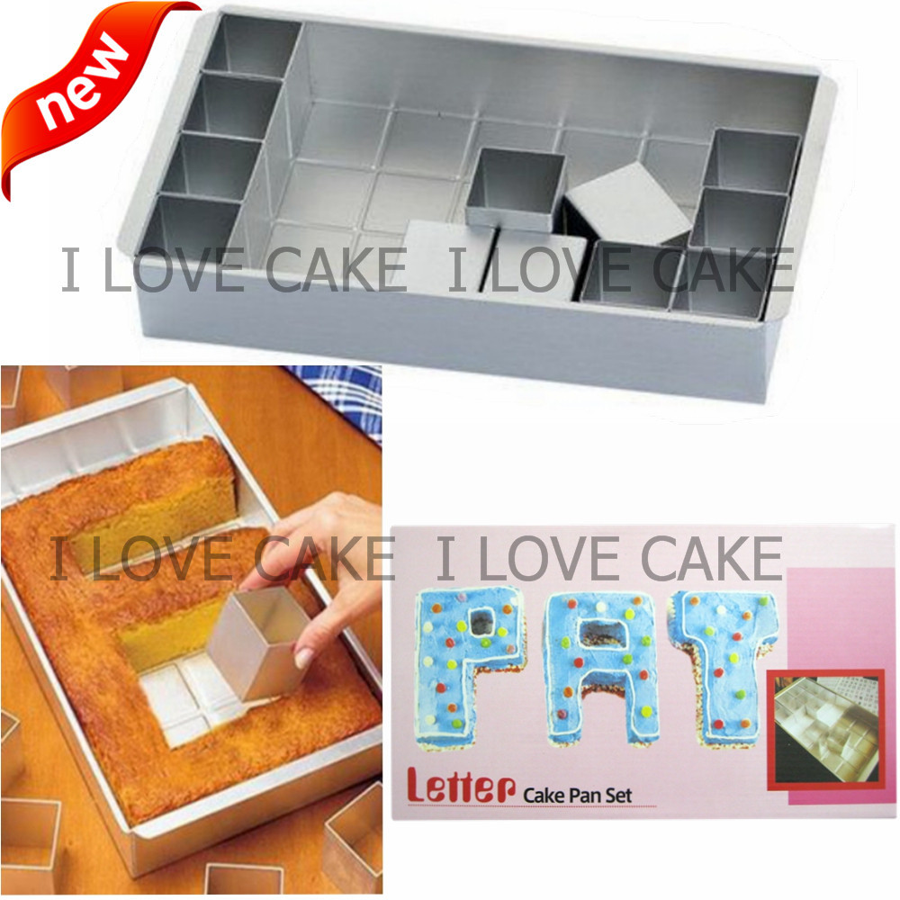 Cake Decorating Number Of Issues : Letter number cake pan set cake decorating tools kitchen ...