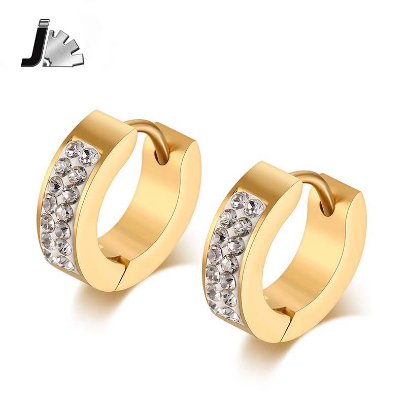 Wonderful Miore Earring MA69EY Women39s Yellow Gold Studs Earring  Jewelry