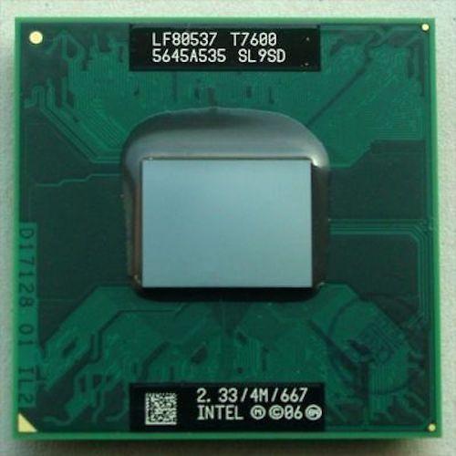 Original INTEL T7600 SL9SD CPU 4M 2.33 667 MHz(China (Mainland))