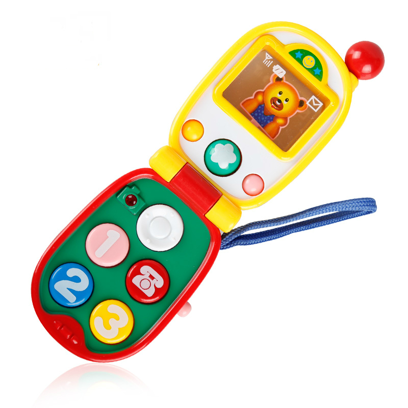 Toys Music Machine Electronic Toy Phone Kid Mobile Phone Cellphone Telephone Baby Early Childhood Educational Toys for Children(China (Mainland))