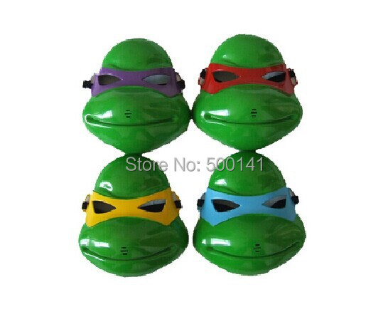 Children's Cartoon Teenage Mutant Ninja Turtles Masks 4 colors Available suitable adult - Syllable Electronics Co., Ltd. store