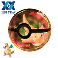 HUI YUAN Dragonite 3D Pokemon Crystal Ball Rotary USB AA Battery 3D LED Night Light Desk