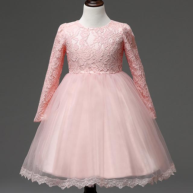Moda de Nova Crianças Vestidos De Casamento Para A Menina ...