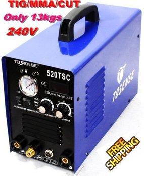 INVERTER DC TIG/ARC/CUT WELDING MACHINE 520 TSC Free shipping + Free accessories