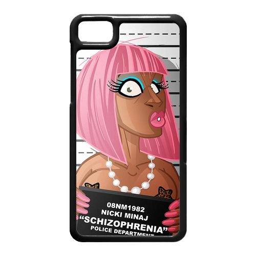 Nicki Minaj Nicki MugShot Case for Z10 Cell Phone Cases Canada(China (Mainland))