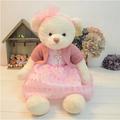 65 cm teddy bear with dress stuffed plush toy girls gift birthday gift