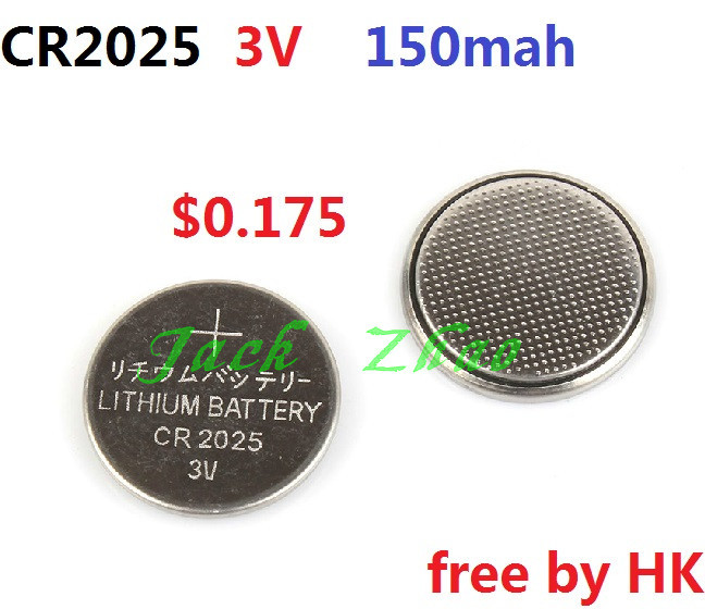 10 150mah CR2025 2025 DL2025 LM2025 ECR2025 Lithium 3v Button Cell Coin Battery Batteries - WE Need it! store