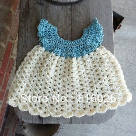 Wholesale vintage crochet baby princess dress, girl dresses, infant, formal, ball gowns, newborn, custom 2 pcs