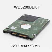 """New 2.5"""" 320GB SATA 16MB  7200 RPM WD3200BEKT High Speed Hard Driver Disk For Laptop Notebook(China (Mainland))"""
