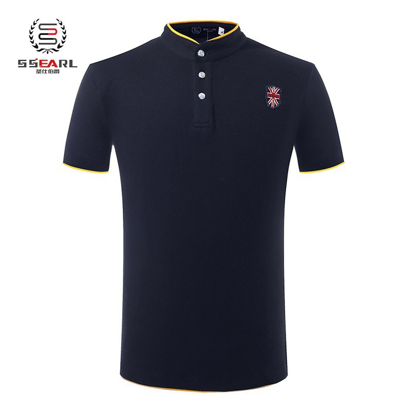 Classic Polo Shirt Men Brand Pure Color Knit Camiseta Polo Ralph Men Cotton Short Sleeve Casual Shirt Men Sports Jerseys Golf(China (Mainland))