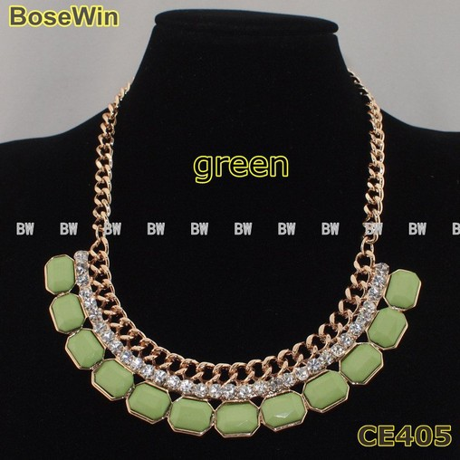 Buy Western Style Chokers Necklaces With Hi Q Coloful Resins For Women Dress