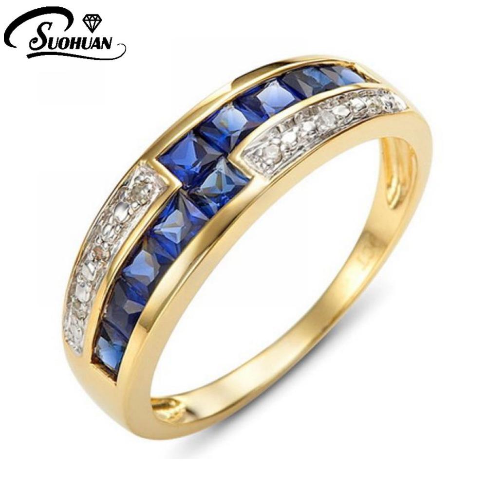 wholesale fashion jewelry aaa zircon blue