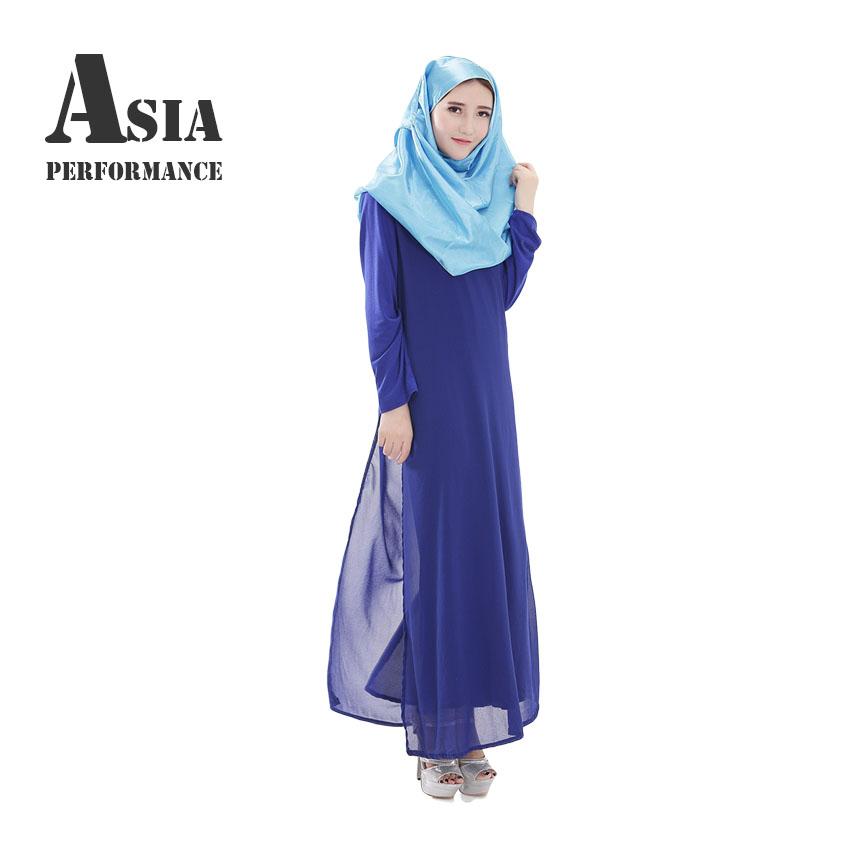 New Muslim <font><b>Abaya</b></font> Long Dress For Women Philippines Dresses Fashion Clothing South Asia Long Sleeve Clothes Moslim Dresses YM025
