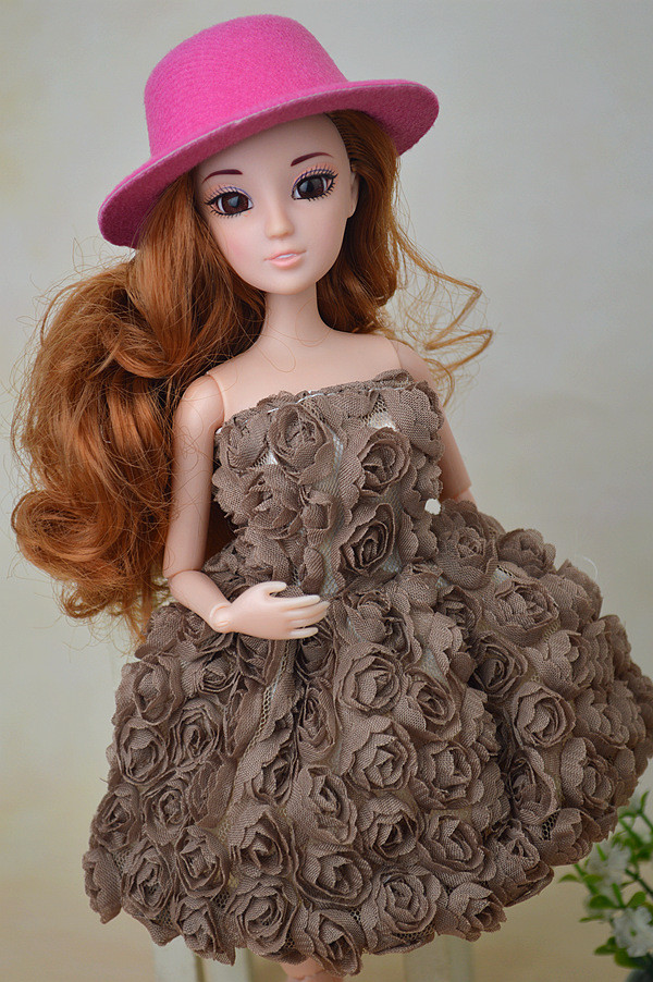 21 colours Scorching Sale Hat Equipment for Barbie Doll Trend Hat Women Dream Good Reward for Youngsters BBI00290