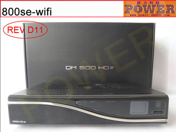 Satellite TV Receiver name DM800se REV D11,Install with Enigma2 and SIM 210 card,The DM 800se support dvb-s2 and 300M wifi