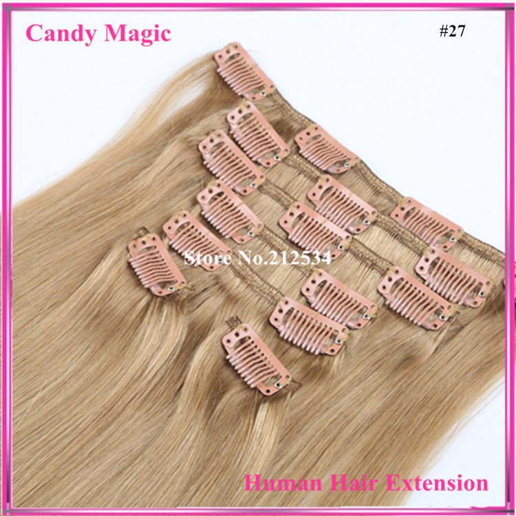 70g/7pcs 18-28 6A Peruvian Clip in Human Hair Extensions Peruvian Straight Virgin Hair Clip in Extension Free Shipping<br><br>Aliexpress