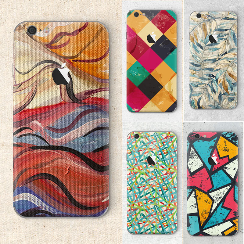 Corrugated leaf color image Phone cover for apple iphone 6 6s Case Soft Silicon coque(China (Mainland))