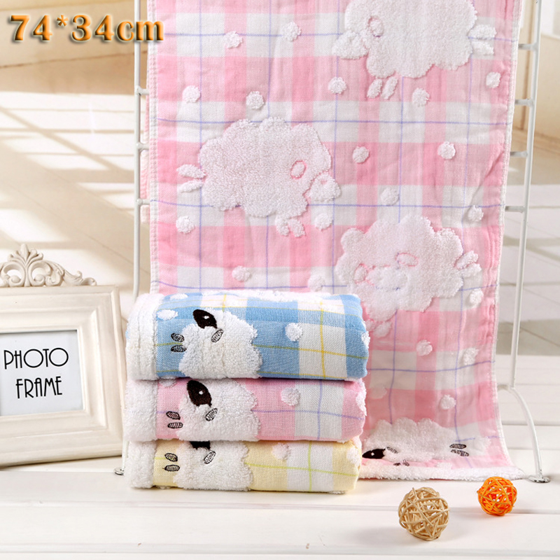 Embroidery baby towel International Trade lowest price best selling Infant kitchen Bath Towels Washcloth bathroom Handkerchief(China (Mainland))