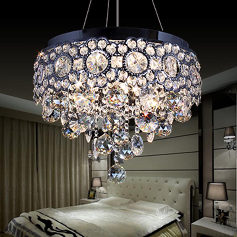Buy Modern Led Lustres Crystal Chandeliers K9 Crystal Lampsh