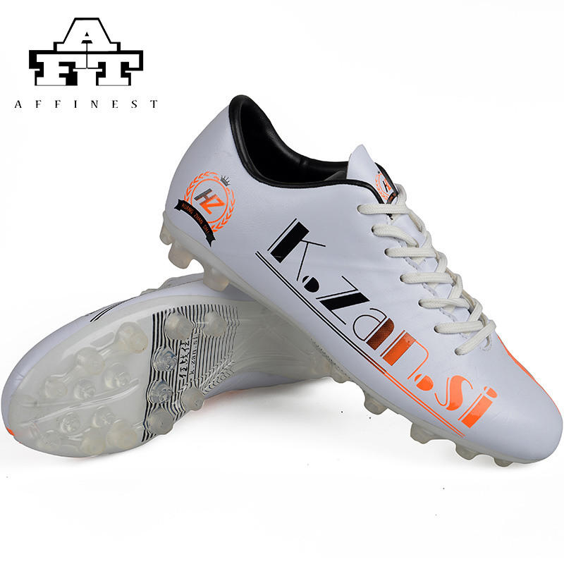 2016 FG Outdoor Men's Football Boots Rubber Fashion Sport Male Soccer Cleats botitas de futbol originales(China (Mainland))