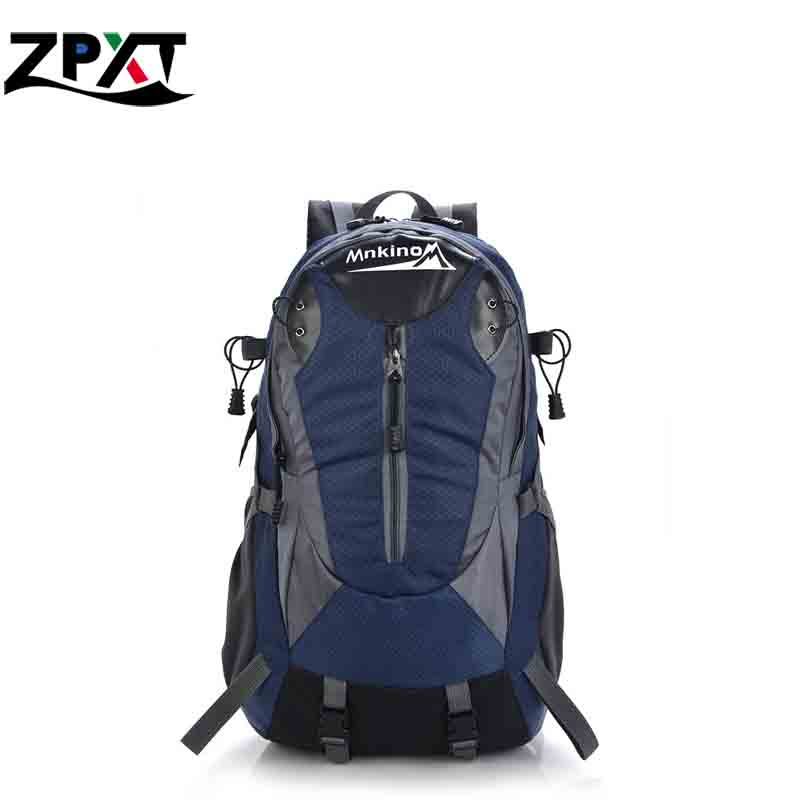 2015 High-quality Waterproof Nylon Sports Backpack Camping Hiking Riding Travel Backpack Daily School Backpack Red Green Brand(China (Mainland))