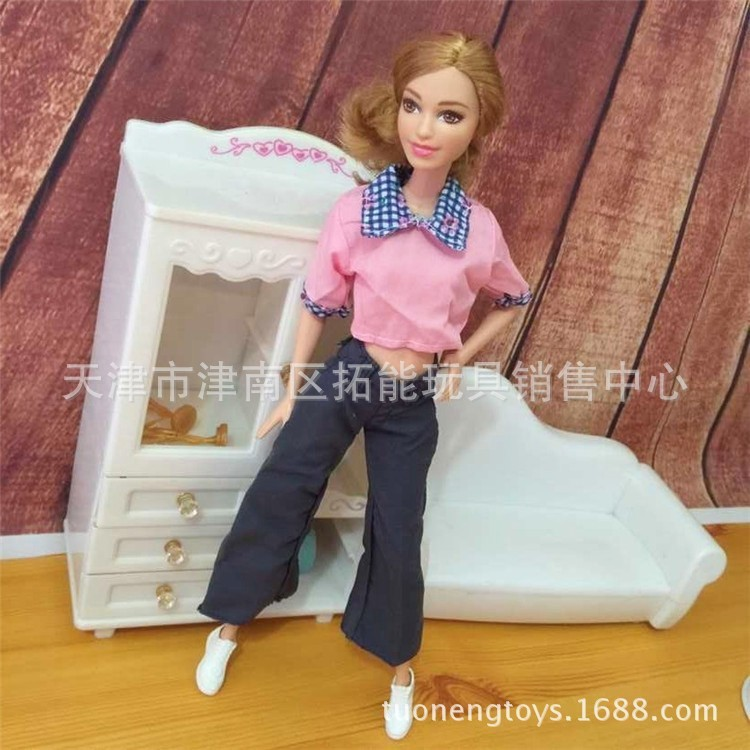 Kids Ladies Reward Doll Equipment30objects= Garments + Footwear + Hangers Combine Fashion Combine Coloration night gown tons For Barbie Doll