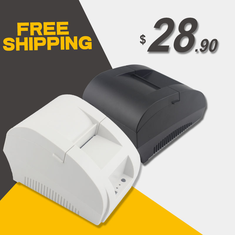 Free Shipping!5890K 58mm Thermal Printer 58mm Thermal Receipt Printer 58mm USB POS Printer for restaurant and supermarket(China (Mainland))