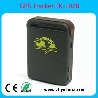 hot sell gps tracker--TK102B  with real time online tracking