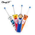 CkeyiN Hot Sales Children Cartoon Pattern Electric Toothbrush Oral Hygiene Electric Massage Teeth Care Kids Toothbrush
